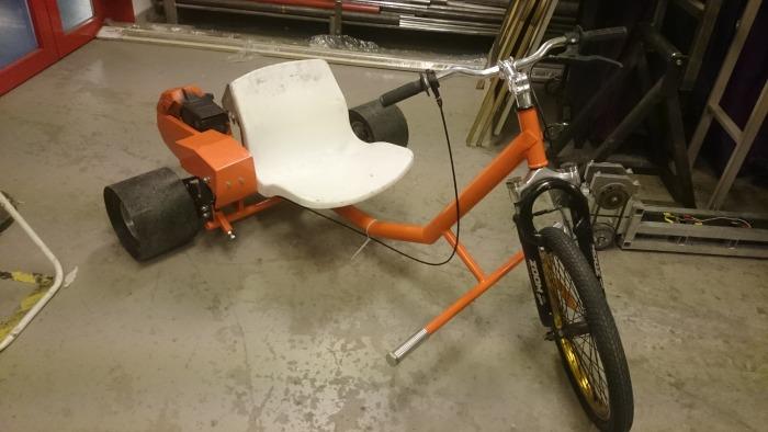 Drifting-trikebike